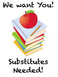 Substitute Teachers Needed! image