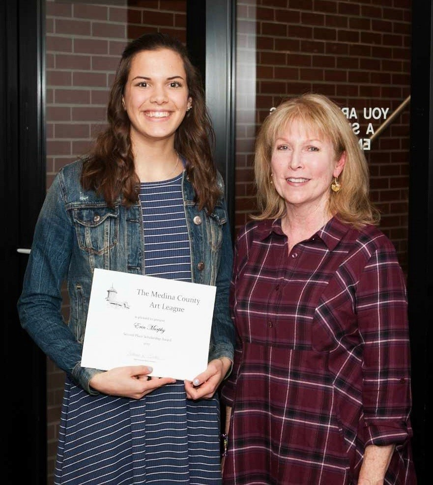 Erin Murphy, Second-Place MCAL Scholarship Winner