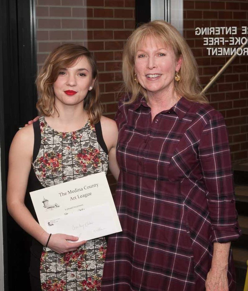 Courtney Klebau, Third-Place MCAL Scholarship Winner