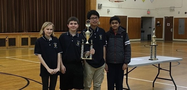 2018 J.V. Academic Challenge  Second Place - Copley Middle School
