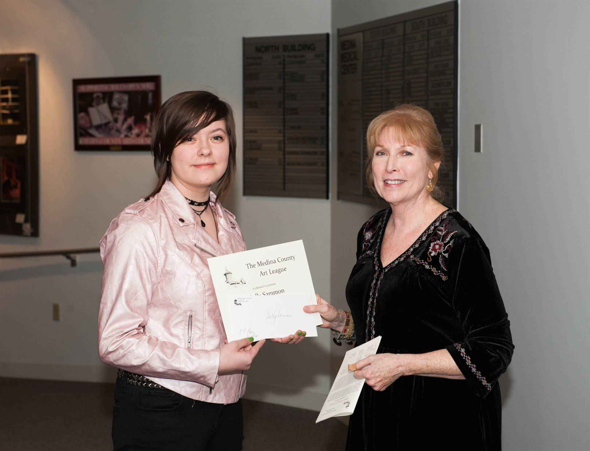 Holly Sammon, Second-Place MCAL Scholarship Winner