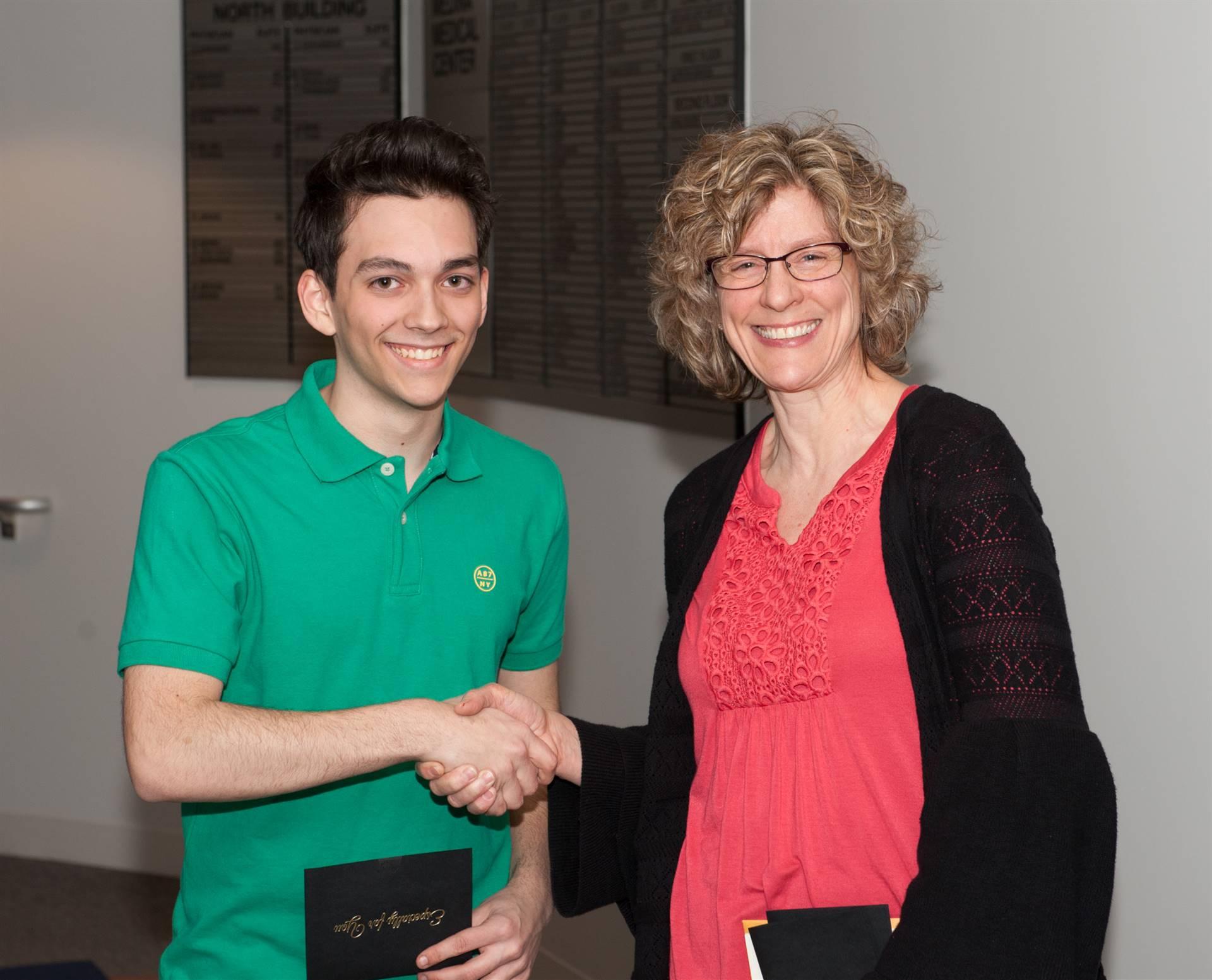 Jesse Freas, First-Place ESC Portfolio Winner
