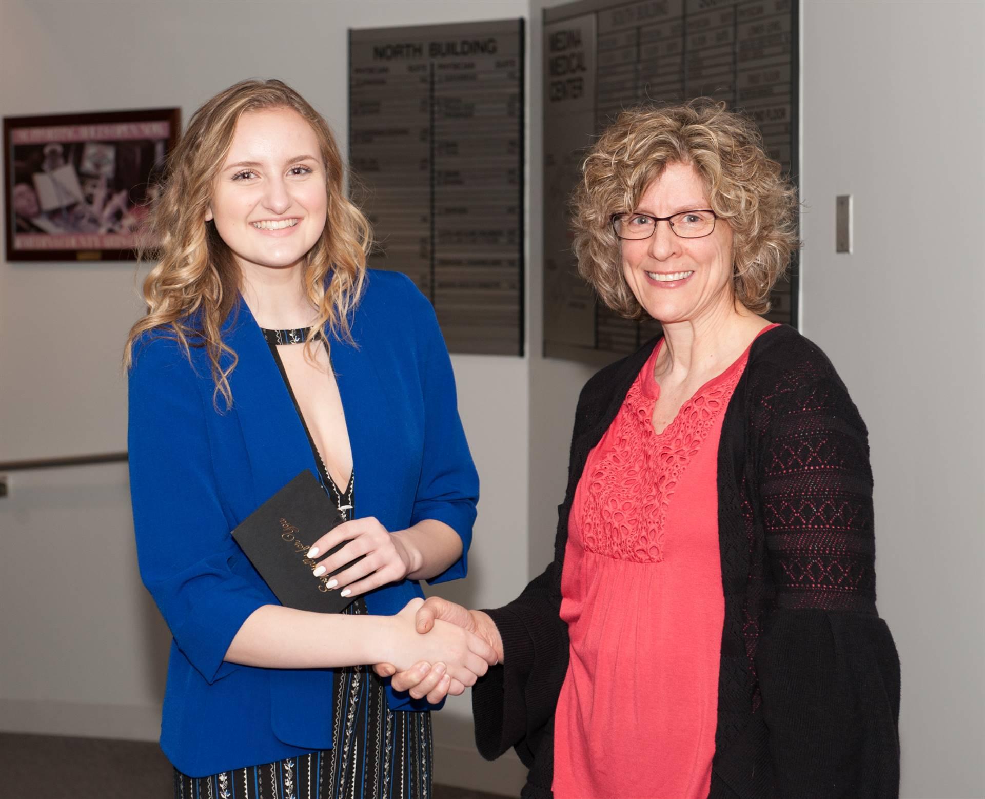 Olivia Kichurchak, Third-Place ESC Portfolio Winner
