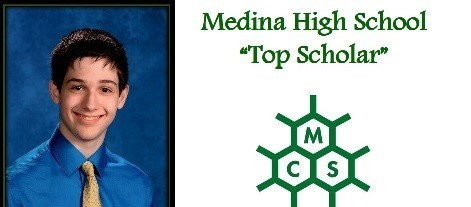 Christopher Scott Medina High School 2018 Top Scholar