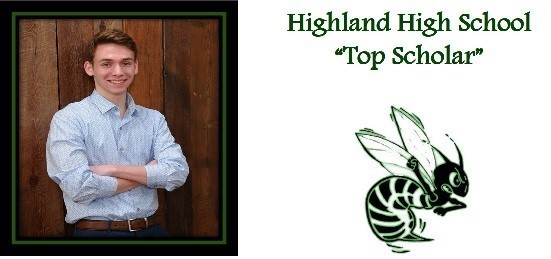Larkin Cleland Highland High School 2018 Top Scholar