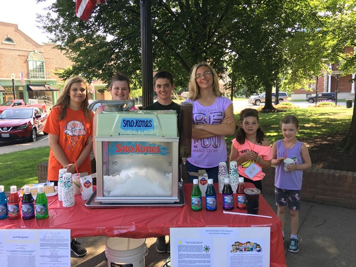 ESC Summer Enrichment Program Snow Cone and Bake Sale Fundraiser