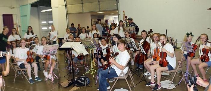 2018 Medina County Fair Honors Ensembles (photo by Brenda Zacharias)
