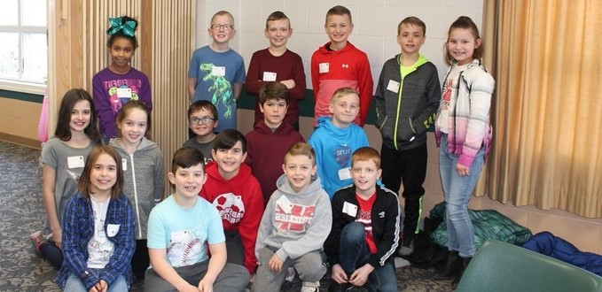 Fourth Graders from Wadsworth City Schools participating in the Medina County 24 Tournament