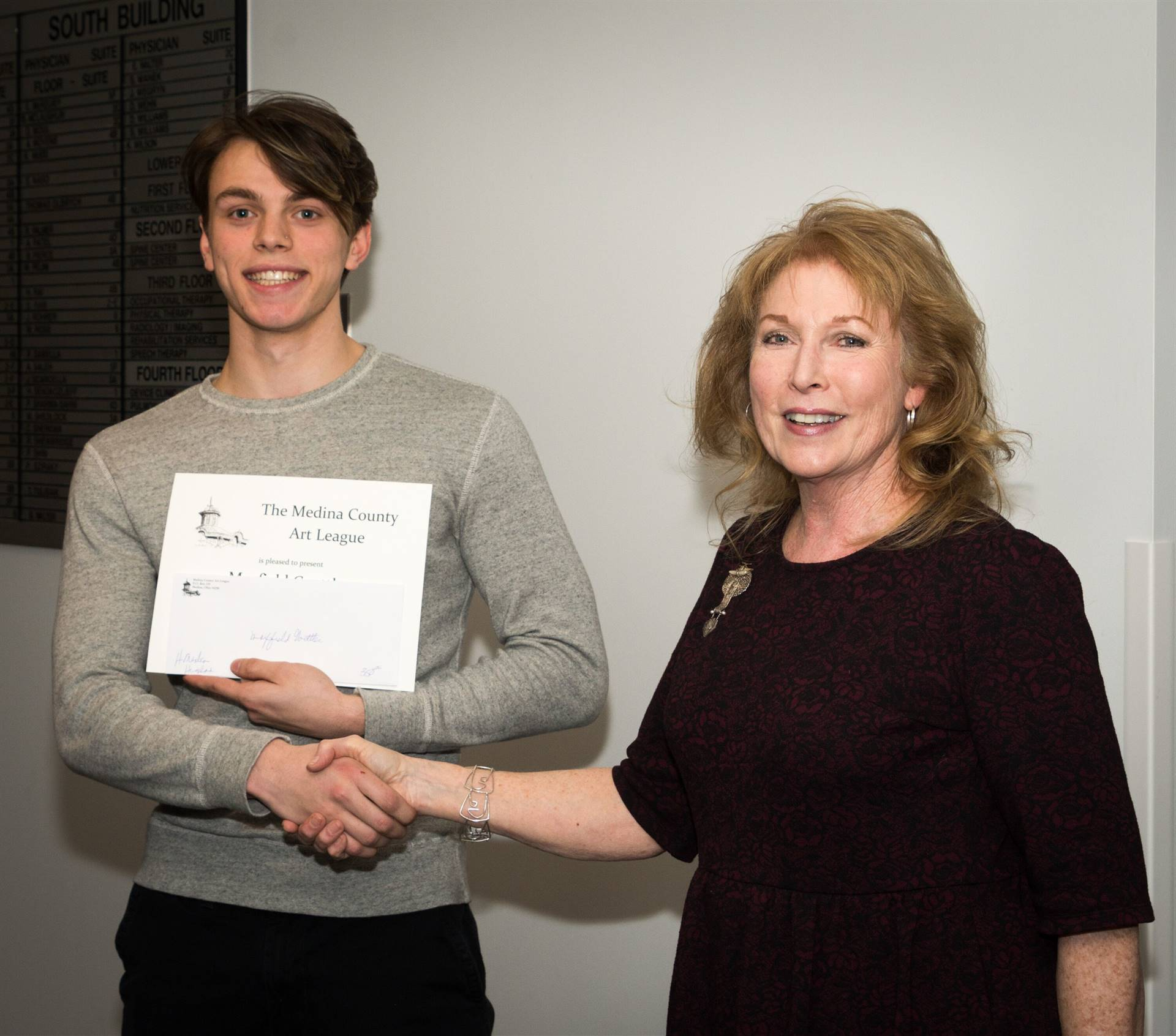 Maxfield Goettler, H.M. 2019 MCAL Scholarship Winner