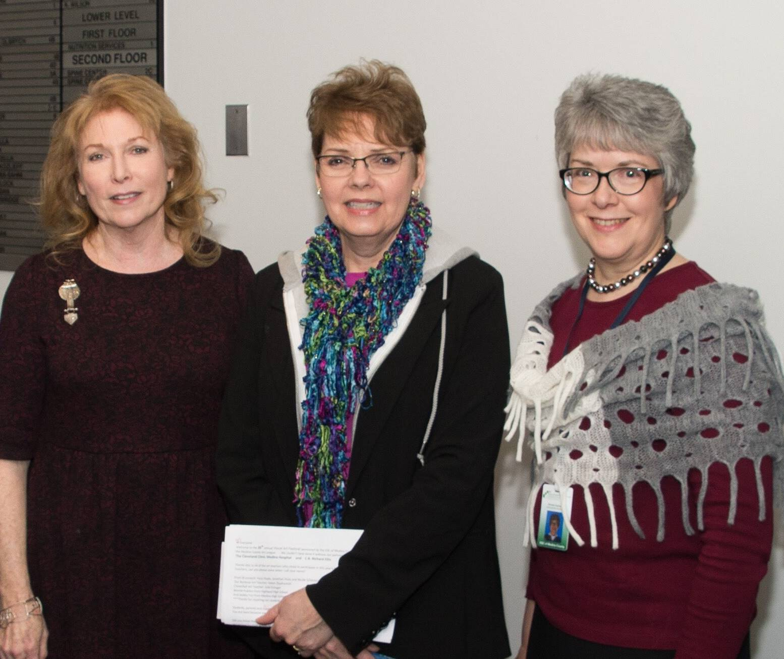 2019 Show Committee (L to R): Janet Baran, MCAL; Pat Wise, ESC; and Brenda Zacharias, ESC