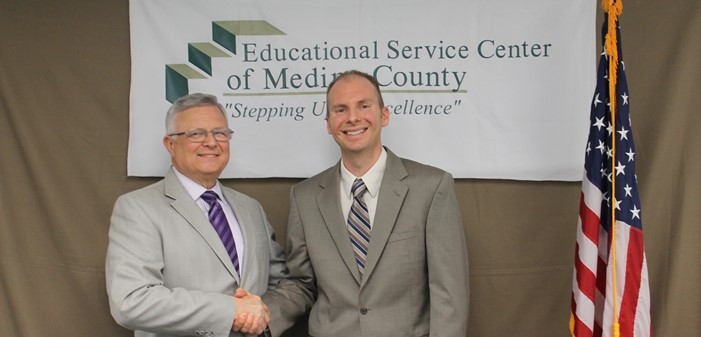 Superintendent Mr. William Koran with Deputy Superintendent Dr. Bob Hlasko
